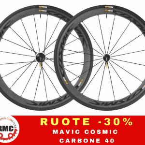 MAVIC COSMIC CARBON 40 - Accessori Ruote Bici - RMC negozio di bici Villafranca Verona