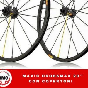MAVIC CROSSMAX 29 - Accessori Ruote Bici - RMC negozio di bici Villafranca Verona