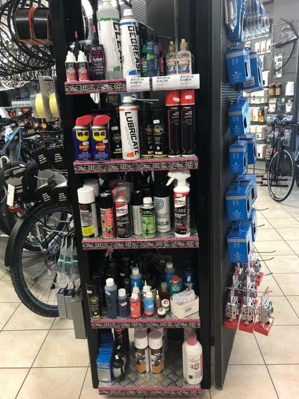 Accessori lubrificazione e pulizia bici - Accessori per bici - RMC negozio di bici Villafranca Verona