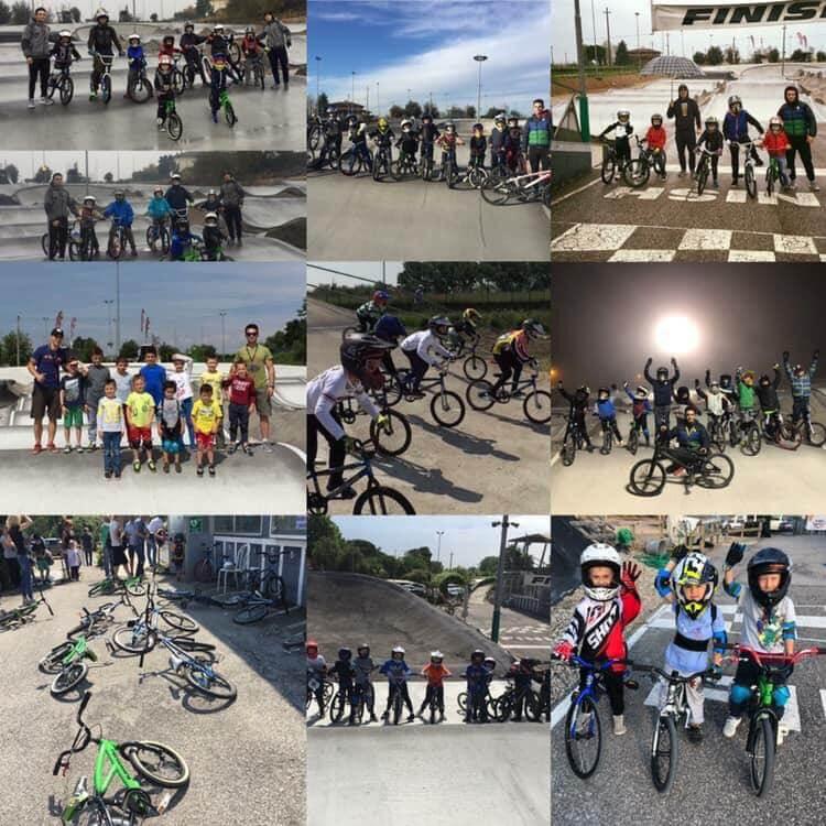 Corsi di bmx Ciclomania Racing Team - Bmx Park - RMC negozio bici villafranca Verona