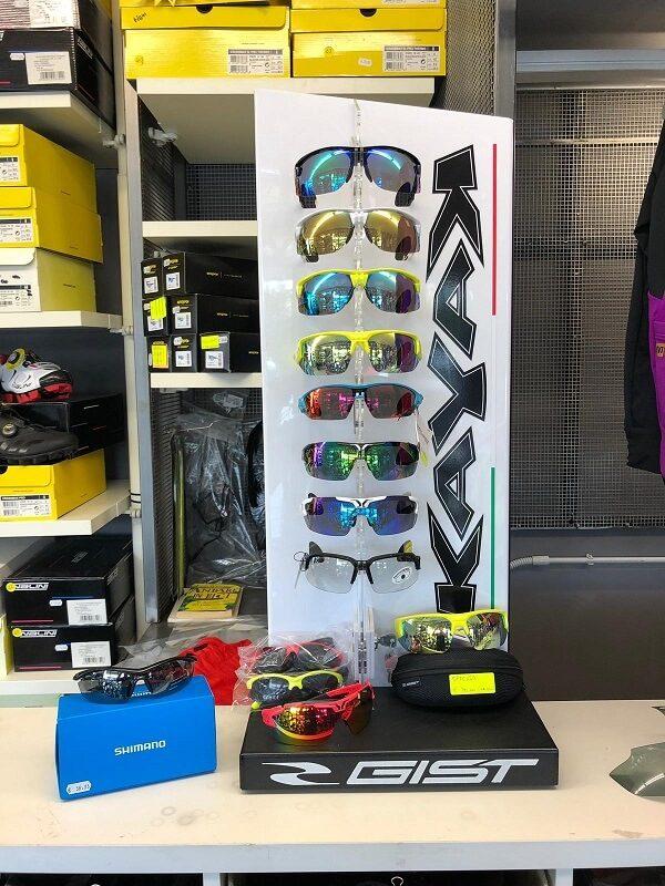 Occhiali da sole per ciclisti - Abbigliamento sportivo bici - RMC negozio di bici Villafranca Verona