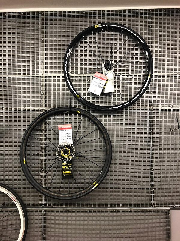 Ruote mavic corsa - Ruote bici corsa - RMC negozio di bici Verona Villafranca