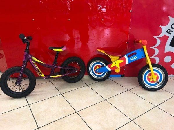 Bici bimbo a spinta - Bici bambino - RMC negozio di bici a Verona Villafranca