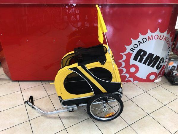 Carrello per cani - Porta cane per bici MAX 30KG - Accessori bici - RMC negozio di bici a Verona Villafranca