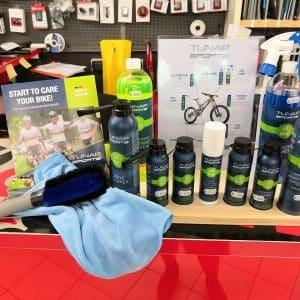 Prodotti pulizia Tunap - Accessori per bici - RMC negozio di bici Verona Villafranca