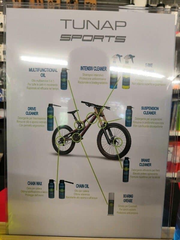 Prodotti pulizia Tunap - Accessori per bici - RMC negozio di bici Verona Villafranca (5)