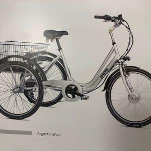 Triciclo elettrico Brera - Bici elettriche Verona eBike - RMC negozio di bici Verona Villafranca