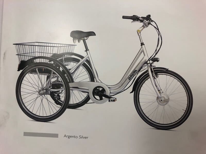Triciclo Elettrico Brera 24 O 20 Bici Elettriche Verona