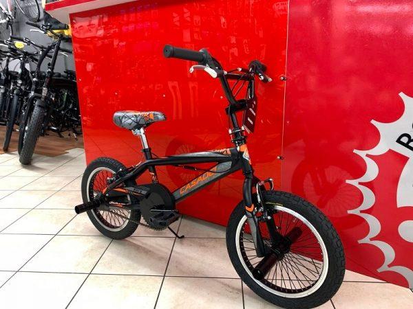 BMX Freestyle 16 Arancione - Bici bambino bicicletta bimbo - RMC negozio di bici Verona