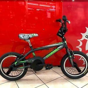 BMX Freestyle 16 Verde - Bici bambino bicicletta bimbo - RMC negozio di bici Verona