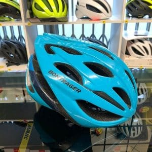 Bontrager Starvos Azzurro. Casco per bici da strada. Caschi bici da corsa. RMC negozio di bici a Verona