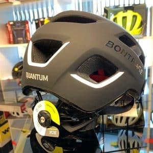 Bontrager Quantum Nero - Casco MTB. Caschi bici Mountain Bike. RMC negozio biciclette Verona