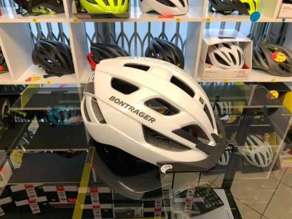 Bontrager Solstice Bianco- Casco MTB. Caschi bici Mountain Bike. RMC negozio biciclette Verona