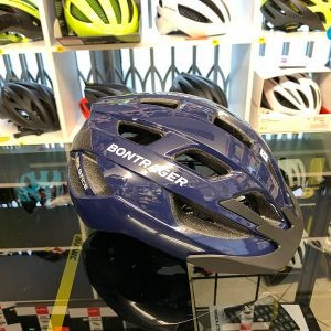 Bontrager Solstice Blue- Casco MTB. Caschi bici Mountain Bike. RMC negozio biciclette Verona