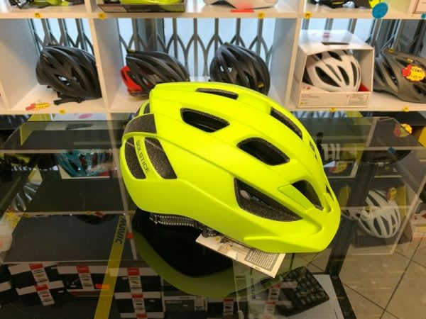 Bontrager Solstice Giallo- Casco MTB. Caschi bici Mountain Bike. RMC negozio biciclette Verona