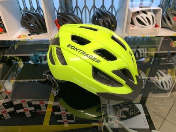 Bontrager Solstice Giallo_Nero - Casco MTB. Caschi bici Mountain Bike. RMC negozio biciclette Verona