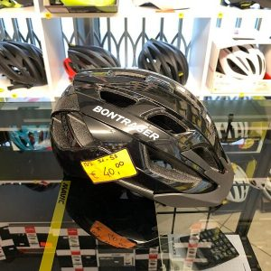 Bontrager Solstice Nero - Casco MTB. Caschi bici Mountain Bike. RMC negozio biciclette Verona