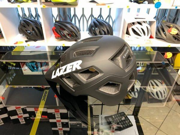 Lazer Coyote Nero - Casco MTB. Caschi bici Mountain Bike. RMC negozio biciclette Verona 2