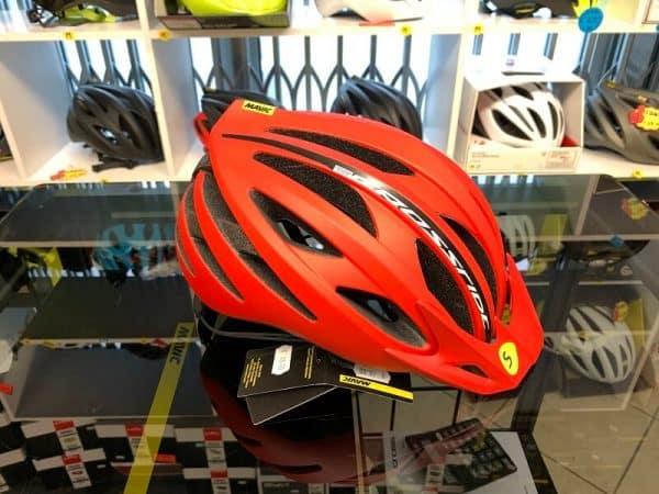 Mavic Crossride Sl Elite Rosso - Casco MTB. Caschi bici Mountain Bike. RMC negozio biciclette Verona