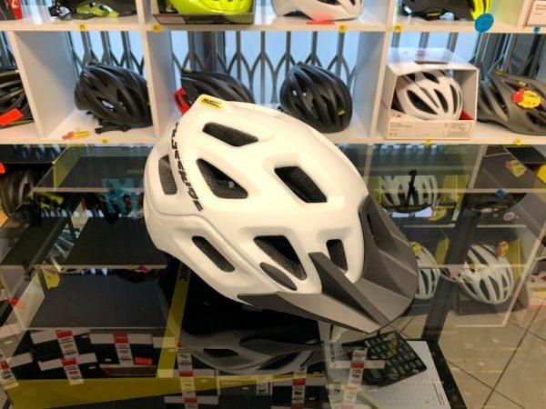 Mavic bianco - Casco MTB. Caschi bici Mountain Bike. RMC negozio biciclette Verona