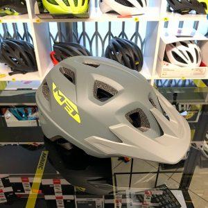 Met Echo Grigio - Casco MTB. Caschi bici Mountain Bike. RMC negozio biciclette Verona