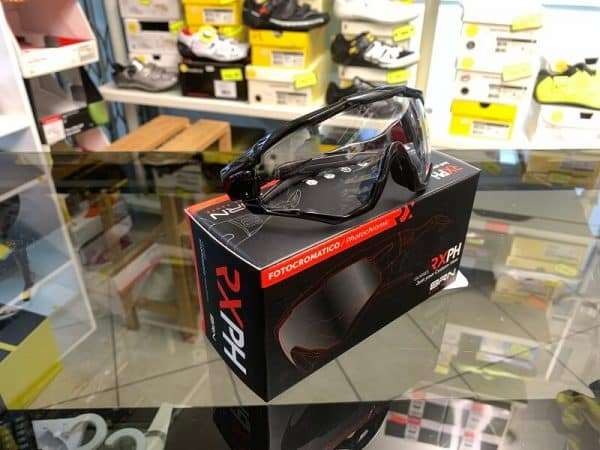Occhiale BRN Fotocromatici nero - Accessori per andar in giro in bici. RMC negozio biciclette Verona