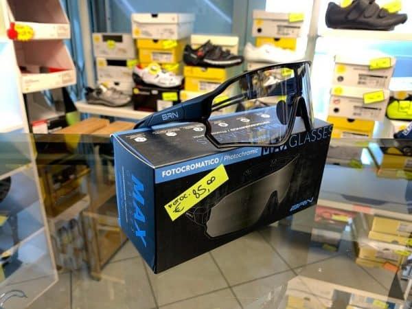 Occhiale BRN MTB Fotocromatici - Accessori per andar in giro in bici. RMC negozio biciclette Verona
