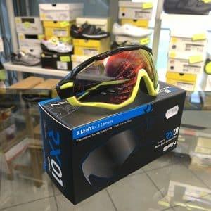Occhiale BRN giallo nero - Accessori per andar in giro in bici. RMC negozio biciclette Verona