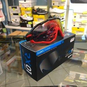 Occhiale BRN nero rosso- Accessori per andar in giro in bici. RMC negozio biciclette Verona