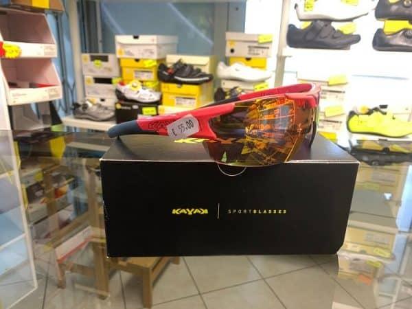 Occhiale Kayak - Accessori per andar in giro in bici. RMC negozio biciclette Verona