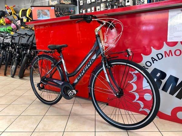Brera Stylo Antracite. City Bike Verona. Bici per la città. RMC negozio di biciclette Verona