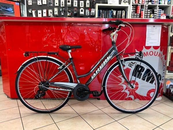 Brera Thema Antracite. City Bike Verona. Bici per la città. RMC negozio di biciclette Verona
