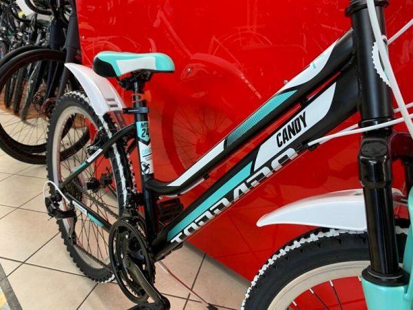 """Torpado Candy nera 24"""" MTB bimba – Mountain Bike Bici Bimba - bicicletta da bambina a Verona"""