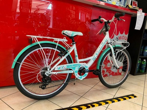 """Torpado Kelly verde 24"""" MTB ragazza – Mountain Bike Bici Bimba - bicicletta da bambina a Verona"""