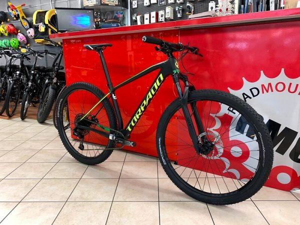 Torpado Ribot N Carbonio nera. Bici MTB Mountain Bike Verona.