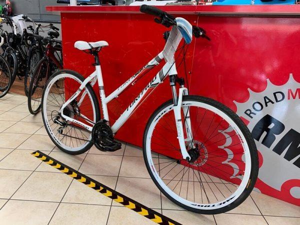 Torpado T816 Ibrida Donna bianca. City Bike Verona. Bici per città. RMC negozio di biciclette