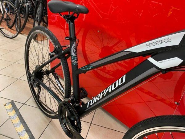 Torpado T821 Ibrida Donna. City Bike Verona. Bici per città. RMC negozio di biciclette