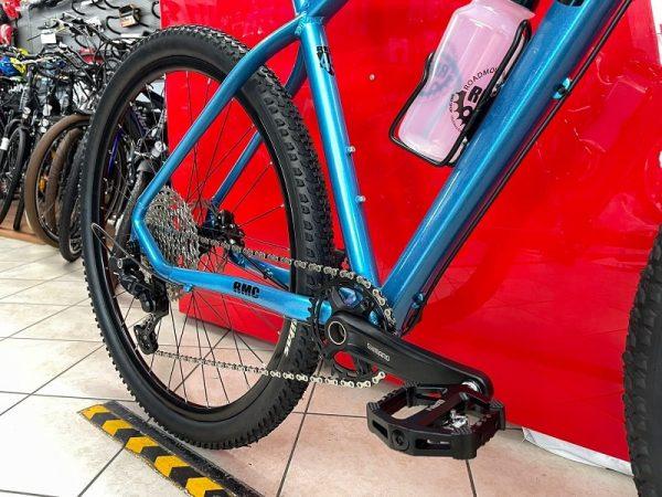 "Bici RMC Gold-Line 29"" azzurra. Bicicletta MTB Mountain Bike Verona"