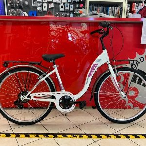 """Montana City 26"""" bianca donna City Bike Verona. Bici per città. RMC negozio di biciclette"""