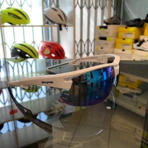 Occhiale bici Kayak bianco. Accessori per andar in giro in bici. RMC negozio biciclette Verona