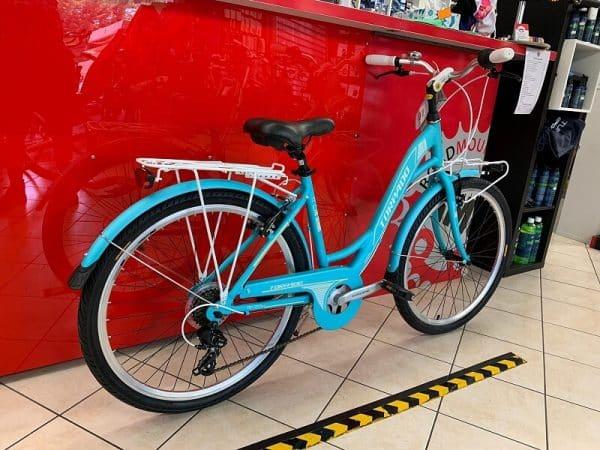 Torpado Freedome Azzurra City Bike Verona. Bici per città. RMC negozio di biciclette