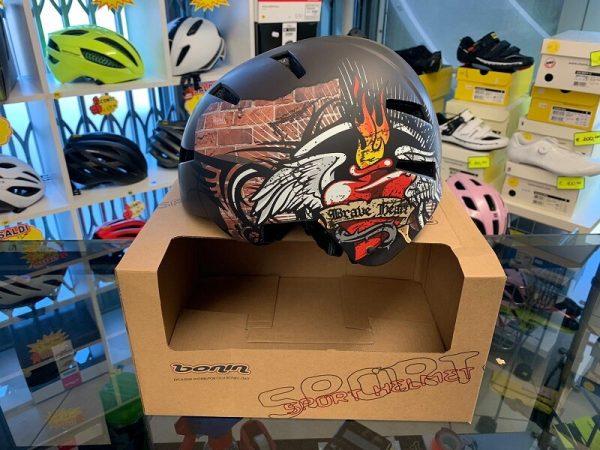 Casco BMX e SKATE - Casco bici BMX freestyle e skateboard Verona. RMC negozio biciclette Verona