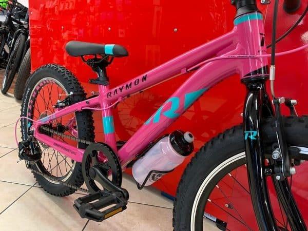 """Raymon Tworay 1.0 rosa 20"""". Bici Bimbo da gara. Bicicletta da bambino a Verona"""