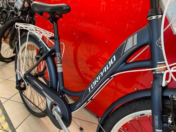 Torpado Freedom Nera City Bike Verona. Bici per città. RMC negozio di biciclette