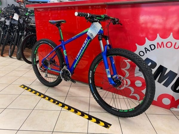 """Torpado Titan 27,5"""" Plus blu. Bici MTB Mountain Bike Verona. RMC negozio di biciclette a Verona"""