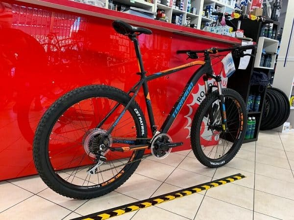 "Torpado Titan 27,5"" Plus nera. Bici MTB Mountain Bike Verona. RMC negozio di biciclette a Verona"