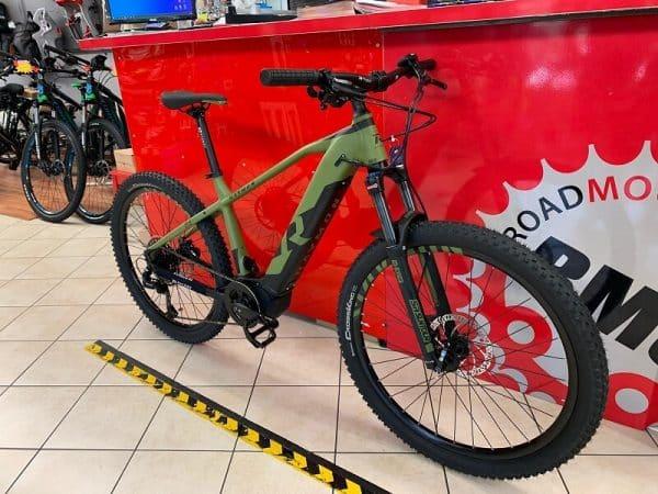 MTB Mountain Bike Elettrica Raymon Hardray 7.0 Bici elettrica bicicletta e-bike. RMC negozio Verona
