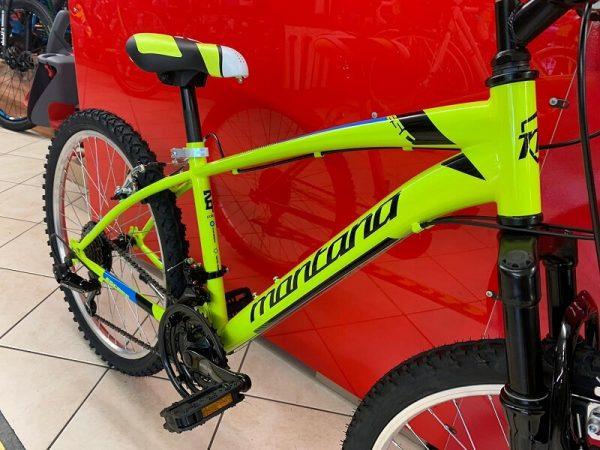 """Montana Mtb 24"""" giallo Bici bimbo. MTB Mountain Bike Verona. RMC negozio di biciclette a Verona"""