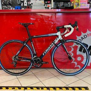 Torpado Temeraria bianca e blu. Bici da strada Verona bici da corsa - RMC negozio di bici a Verona