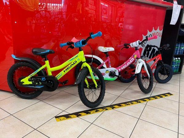 Bici bimbo HEAD Bici bambino. MTB Mountain Bike Verona. RMC negozio di biciclette a Verona